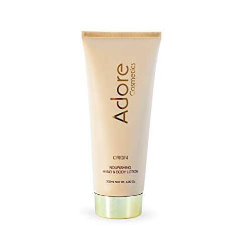 Adore Cosmetics | Nourishing Hand & Body Lotion - Origin - 6.8 Fl Oz | Anti Aging Luxury Lotion For Men and Women | Organic Lotion with Shea Butter and Organic Plant Stem Cells (1)