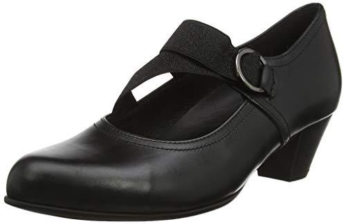 Gabor Shoes Damen Comfort Basic Pumps, Schwarz (Schwarz 57), 39 EU