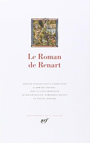 Le Roman de Renart (Bibliothèque de la Pléiade)