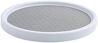 Batreetek 調味料ラック360度回転 調味料収納スタンド キッチン収納 化粧品収納 浴室収納ラック卓上回転トレー 直径 30cm