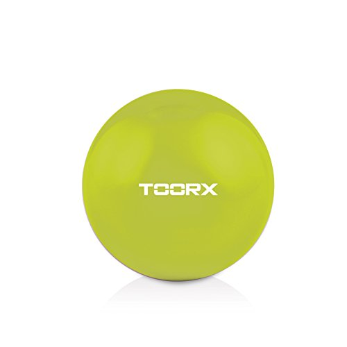 Toorx AHF-065, Sfera Tonificante Unisex Adulto, Verde Lime, 70x30x15