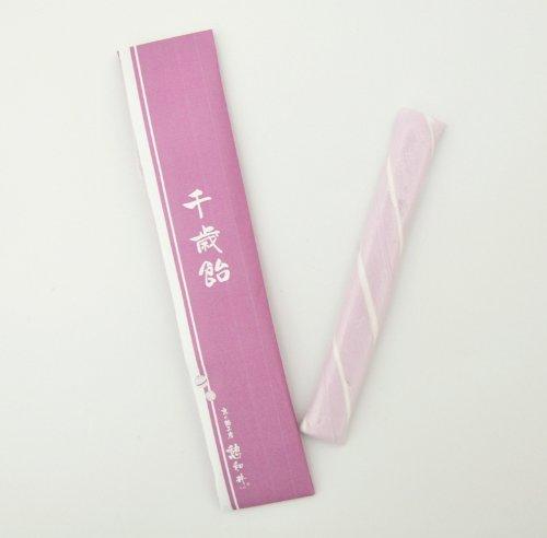 千歳飴 1本入 (紫) のし袋付