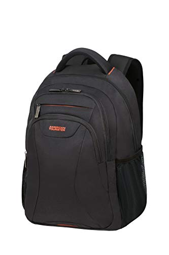 American Tourister at Work Rucksack, 50 cm, 25 Liter, Black/Orange