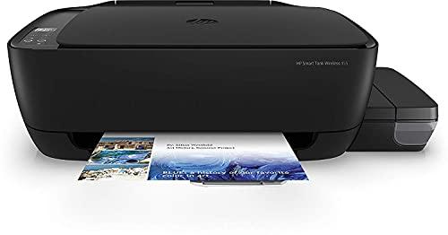 HP Smart Tank Wireless 455 - Impresora multifunción tinta, color, inalámbrica, modo silencioso (Z4B56A)