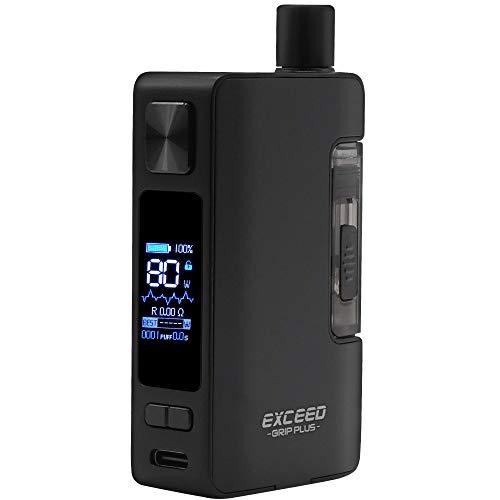 Joyetech Exceed Grip Plus Kit 80 W, Pod-System 2,6 ml, Riccardo e-Zigarette, schwarz