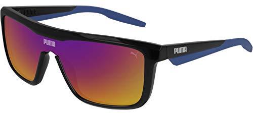 Puma gafas de sol PU0248S 002 negro, azul, tamaño de 99 mm de hombre