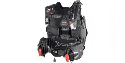 Mares Hybrid Pure BCD with MRS Plus Weight Pockets - Medium/Large by Mares