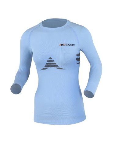 X-BIONIC Energizer Women's Manches Longues T-Shirt Collant T-Shirt Course à Pied - L/XL