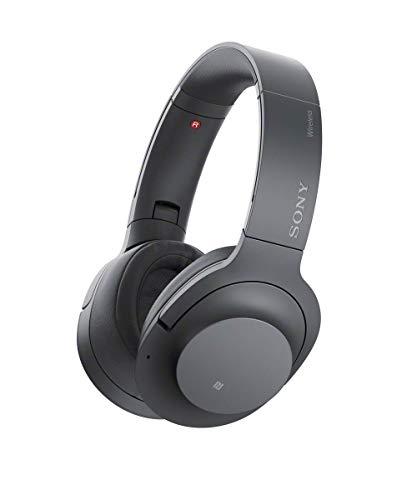 Sony WHH900N Hear On 2 Wireless Overear Noise Cancelling High Resolution Headphones, 2.4 Ounce-Dark Gray