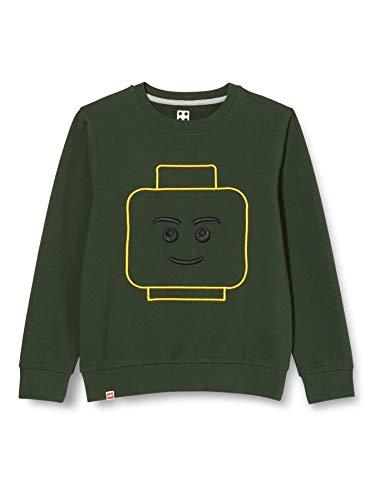 Lego Wear M Maglia di Tuta, 871 Verde Scuro, 152 Bambino
