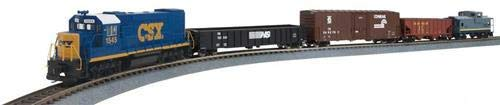 Walthers HO Scale Model, Flyer Express Train Set - CSX -Standard DC