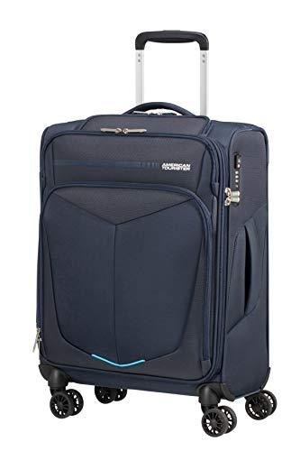 American Tourister Summerfunk Equipaje de Mano, 55 centimetros, 39.5 litros, Azul (Navy)