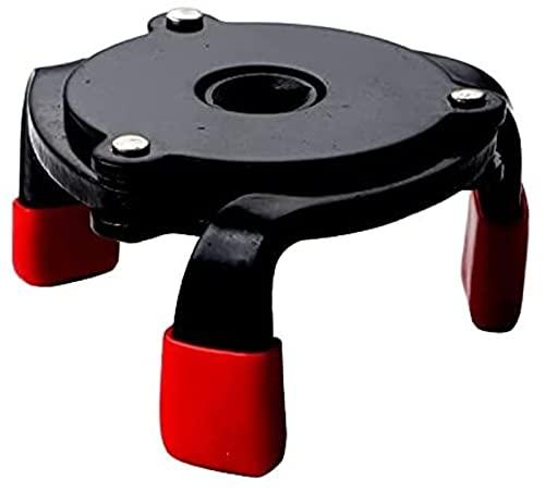 Llave Universal Herramienta de eliminación de filtro de aceite de 3 mandíbulas Coches Herramienta de extracción de filtro de aceite Interfaz Herramientas especiales Herramienta de llave de filtro de a
