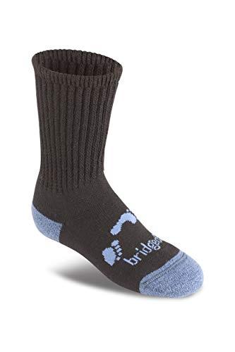 Bridgedale Explorer Chaussettes d'endurance en mérinos pour enfant Noir Taille M