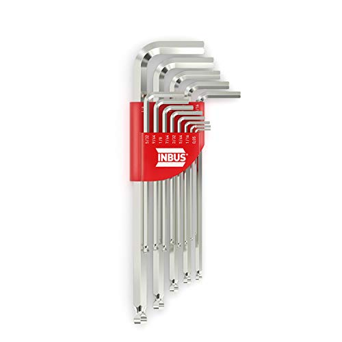INBUS® 70426 Inbusschlüssel Set (Zoll) 13tlg, 0.05–3/8