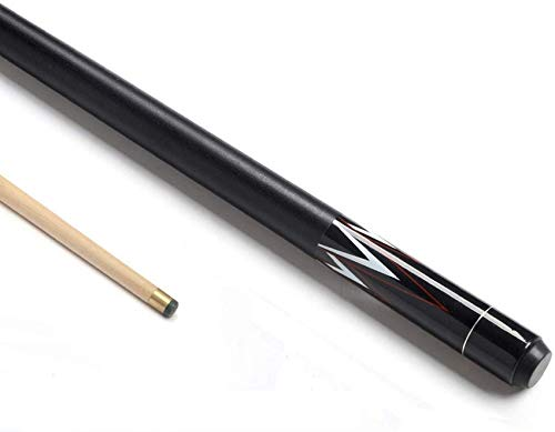 WEHOLY Classic Handmade 58 Inch Maple 1/2 Piece Snooker Cue American Nine Ball 19 oz Pool Cue Pool Cue