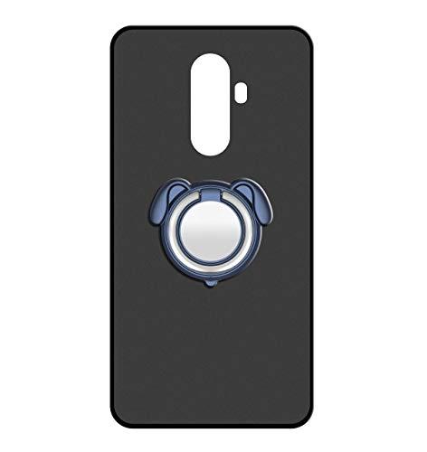 Sunrive Für WileyFox Swift 2/2 Plus Hülle Silikon, 360°drehbarer Ständer Ring Fingerhalter Fingerhalterung Handyhülle matt Schutzhülle Etui Hülle (Farbe Blau)+Gratis Universal Eingabestift MEHRWEG