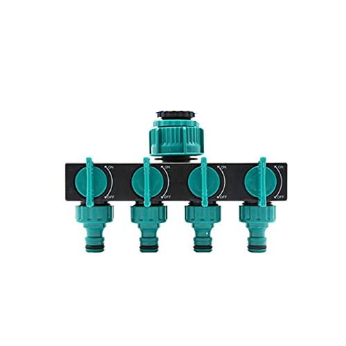 DNAMAZ Splitter de Manguera de jardín Splitter de 4 vías con Manguera de Agua Splitter de Agua Conector G1 / 2 G3 / 4 G11PCS (Color : B 1)