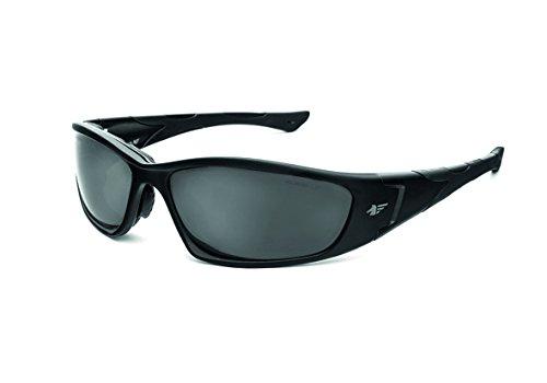 PEGASO 990.99.5305 990.01-Gafas Proteccion Gama Solar Sun Modelo F1 Lente PC Polarizada, Negro, L