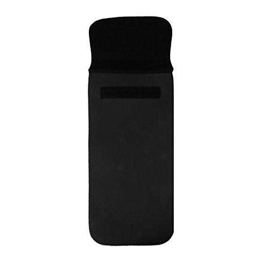 Sharplace Sac d'Isolation Thermique Isolateur Sac de Rangement Pochette à Eau Noir