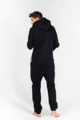 Moniz Herren Jumpsuit, schwarz - 5