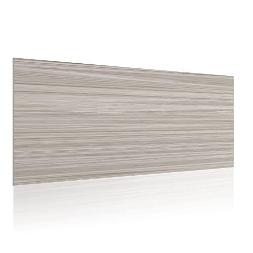 Cabecero para Cama de 135 cm, Imitación Madera, PVC Estampado, 145 x 60 x 0.5 cm, CAB-009