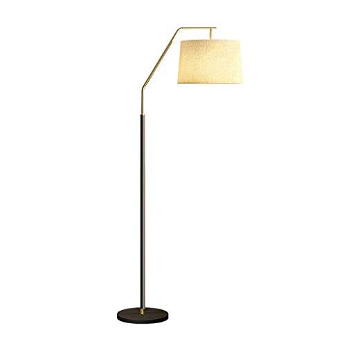 HLL Lámparas novedosas, lámpara de pie Lámpara de pesca creativa Lámpara de lectura vertical moderna Sala de estar Dormitorio Lámpara de noche Lámpara de mesa decorativa de moda nórdica Lámpara de pi