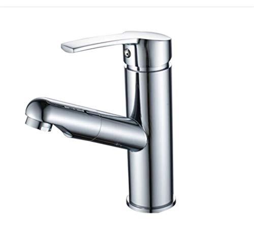 Spülarmatur Waschbecken Geschirrbrause Zugstange Spülarmaturen Badezimmer Draw Wasserhahn Cold Und Hot Facebasin Waschbecken Wasserhahn Versenkbarer Tisch Becken Wasserhahn