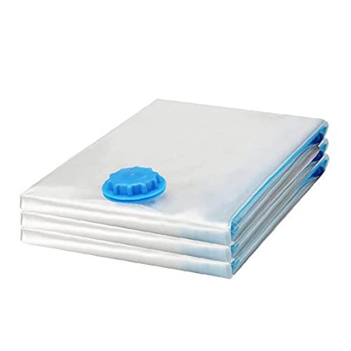 finebrand De Vacío Bolsa De Almacenamiento Space Saver Bolsas De Compresión Ropa De Cama Impermeables para Edredones Mantas Coats 3pcs S