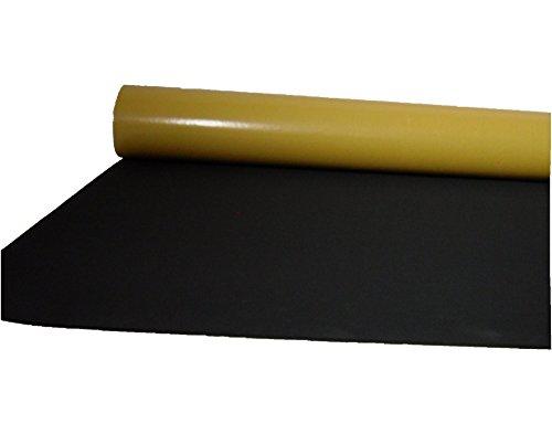 EPDM Zellkautschuk 2mm Stärke 0,5mx1m einseitig selbstklebend schwarz