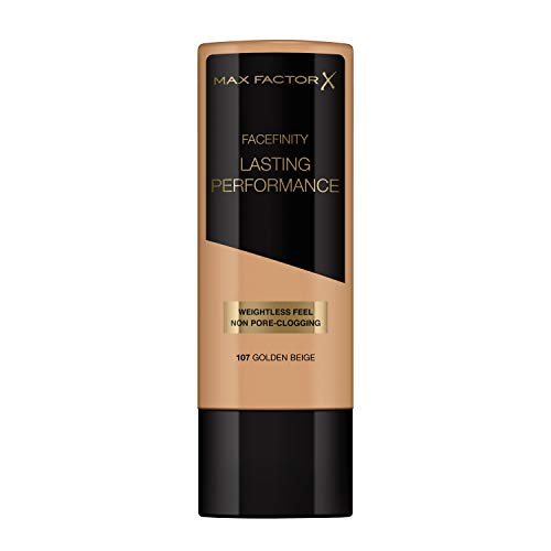 Max Factor Facefinity Lasting Performance Foundation 107 Golden Beige, 35 ml