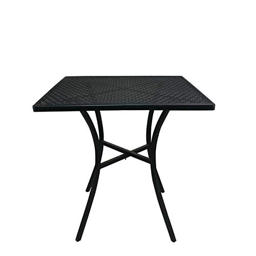 Suzanne Compact Esstisch Stühle Außen Balkon Terrasse Tisch, Gartentisch Moderne Minimalist Platz Schmiedeeisen Tisch,