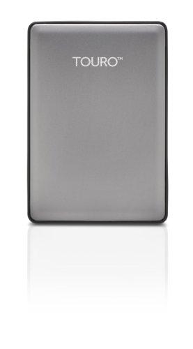 HGST Touro S 1TB 7200RPM High-Performance Portable Drive, Platinum (0S03694)