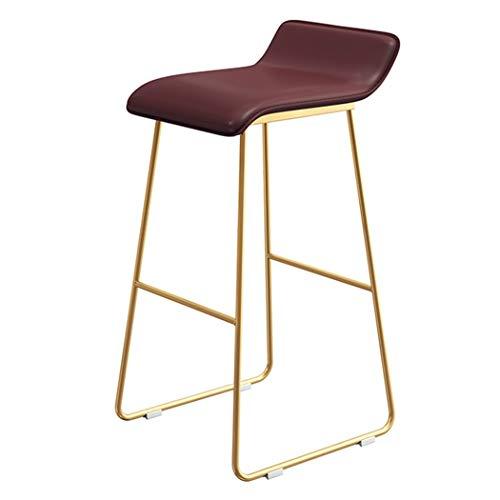 JQQJ bartafel met barkruk low terug gouden stoel poten barstoel huis smeedijzeren barkruk barkruk hoge stoel