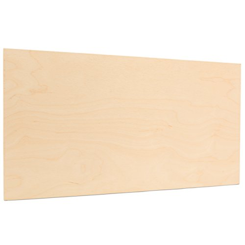 6mm 1/4' x 12' x 24' Premium Baltic Birch Plywood B/BB Grade, 6 Flat Sheets by Woodpeckers