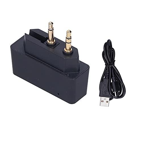 Cloudbox Adaptador de línea aérea Adaptador Bluetooth 3.5mm V5.0 EDR Adaptador de Vuelo de avión Transmisor Receptor de música inalámbrico