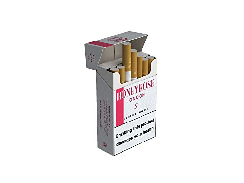 Honeyrose Strawberry Herbal Cigarettes 20s