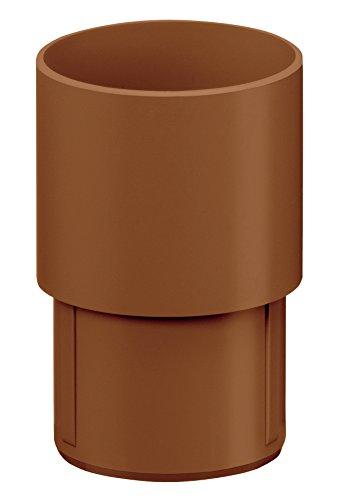 INEFA Verbinder für Fallrohre, Kunststoff, Braun DN 100