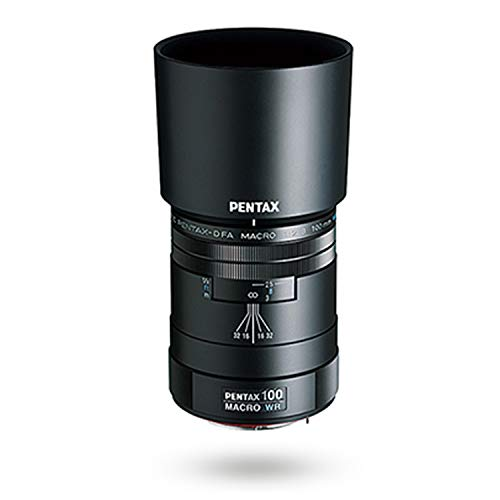smc PENTAX 100 mm /D FA MAKRO F2.8 WR (Hochwertiges Telemakroobjektiv 1: 1 (1X)-Fotografie in Entfernungen von bis zu 13 cm vom Objektiv zum Motiv Hohe Abgrenzungsleistung Wetterbeständig)