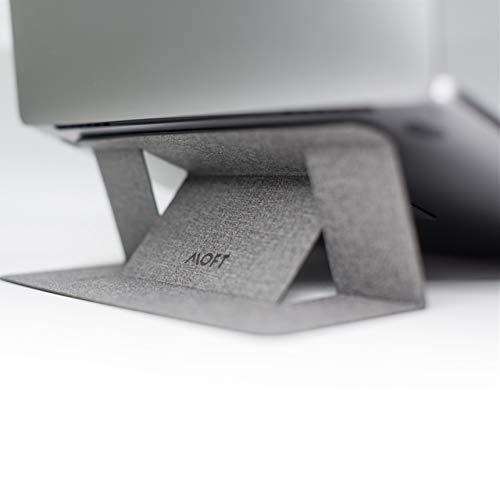 MOFTノートパソコンスタンド 軽量ノートパソコンスタンド MacBook/Air/Pro タブレット ノートパソコン対応 最大15.6インチ 特許取得済み カウボーイグレー