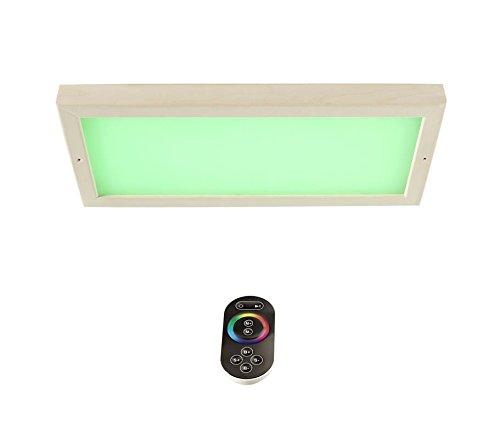 Well Solutions LED Farblicht mit Fernbedienung Licht Therapie mit 609 LED für Sauna Kabinen
