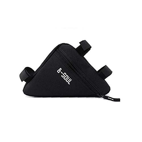 Fahrrad Dreieck Tasche Fahrrad-Beutel-Multi-funktions-Mode Mountainbike Kettle Tasche Für Fahrradzubehör Schwarz
