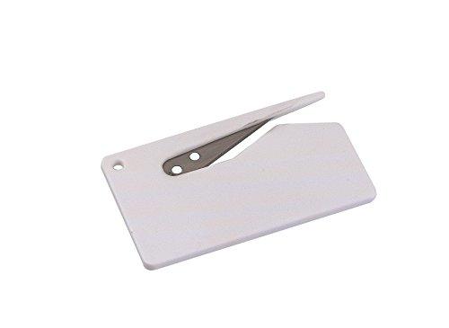 peha Brieföffner - Folienmesser mit geschützter Klinge, weiß