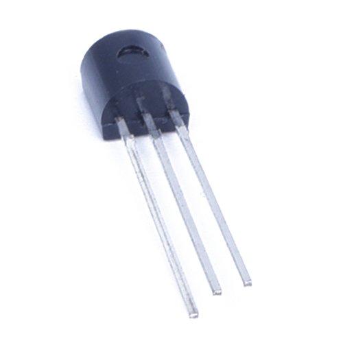 ACAMPTAR 10 Stueck 2N5551 NPN Silikon Verstaerker Transistor 0.6A 160V TO92