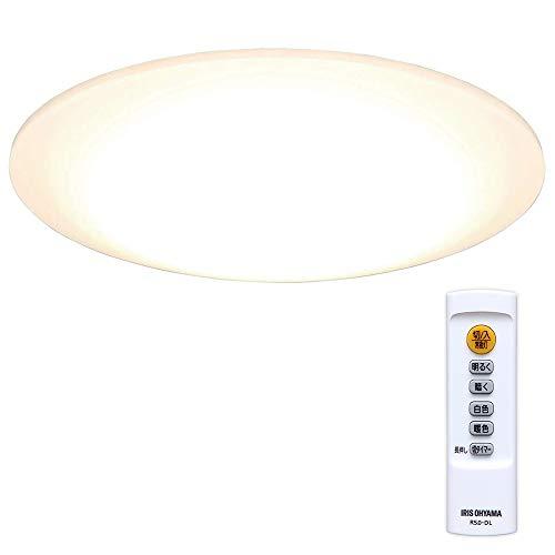 アイリスオーヤマ LED シーリングライト 調光調色タイプ ~8畳 リモコン 4000lm CL8DL-5.0