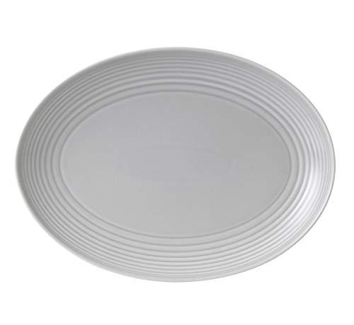 Royal Doulton, Porcelaine, gris clair, 32 cm