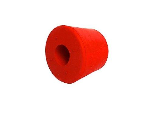 Bouchon en caoutchouc avec trou de 17 mm - 'Speidel'