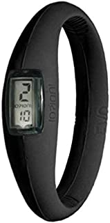 IOION E-BLK05-I Casual Watch For Unisex Digital Silicone, Black