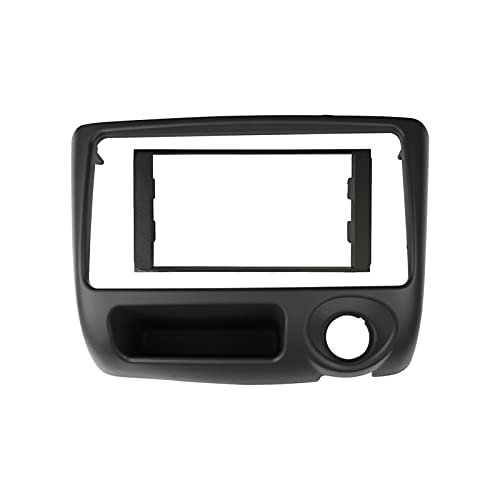 fangyuan Doppia 2 DIN Autorapiaccia Cornice adatta per Toyota Vitz Dash Kit Stereo GPS Player DVD Installare surround Trim Panel Radio FASIA BEZEL (Color Name : 178x100)