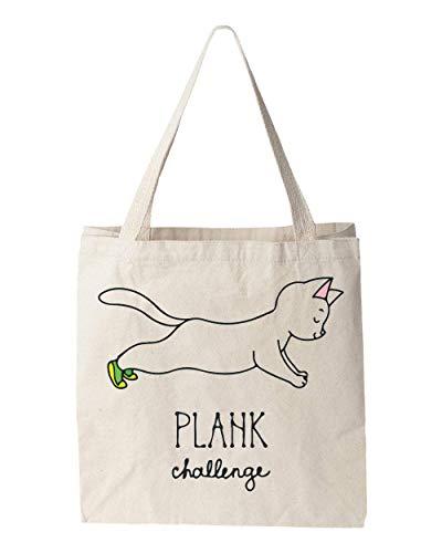 Sartamke Plank Challenge Kitty Tragetasche